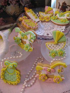 Biscotti decorati per battesimo. Omar Busi