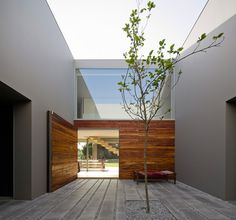 Quinta Patino Rectangular House Welcoming the Nature Inside