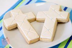 Christening Cookies » Pink Cake Box Custom Cakes & more