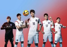South Korea 2014 World Cup Jersey released by Nike. The new South Korea Home and Away Kit is quite classy. Have a look.