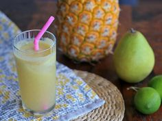 Pineapple, Pear and Lime Juice | Girl Cooks World