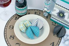 New Year's Eve Party Ideas - I know it's a little early for this but I thought it was too cute!