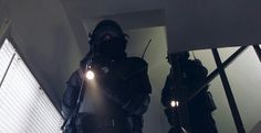 """""""Ah..."""" The boy looked up, an armed guard pointing their flashlight in his face. """"Hello. I was just... leaving..."""""""