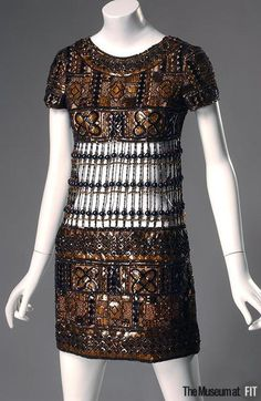 """""""African"""" Dresses Yves Saint Laurent, 1967 The Museum at FIT The..."""