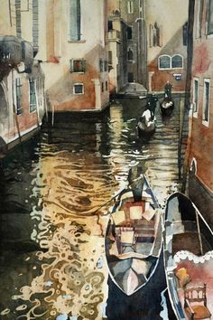 Watercolor Paintings by Anna Orlowska
