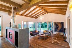 Stavbaweb.cz – Dům s ozvěnami Karibiku Pergola, New Homes, Loft, Outdoor Structures, Bed, Furniture, Home Decor, Google, Caribbean