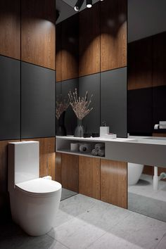 guest toilet on Behance