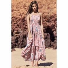 Stunning long strappy maxi dress with an elastic bodice for plenty of stretch, Feel and look like a goddess. Solange Print Karlie Maxi Dress Elastic Bodice True to size Adjustable Straps Rayon Cold Hand Wash Only Strappy Maxi Dress, Bodice, Summer Dresses, Boho, Fashion, Moda, Fashion Styles, Fasion, Summer Outfits