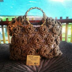 Flowerry crochet bag