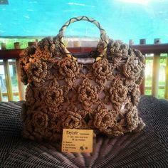 Flowerry crochet bag