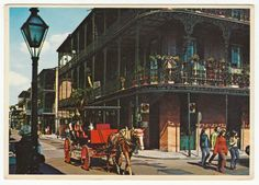 Postcards - United States #  558 - French Quarter, New Orleans, Louisiana