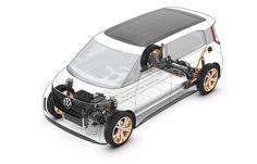 Volkswagen BUDD-e Concept - Drivetrain technical illustration