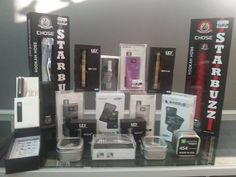 Some stuff we have to offer Vaping, Tanks, The Selection, Juice, Couple, Oil, Facebook, Website, Flower