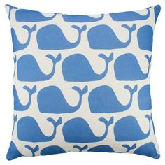 Whale's Tail Pillow