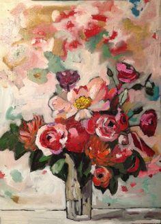 Georgia Lobo. Looking for a fun floral idea for women's retreat class.