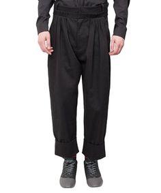 JW ANDERSON Ruffled Cotton Pants. #jwanderson #cloth #pants