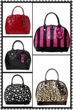 Hello Kitty purses..Available @ Hot Topic
