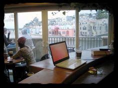 Mr Toots, Capitola, CA - When in Capitola, Meg Brennan walks to Mr. Toots every morning for her coffee.