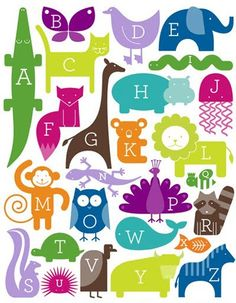 Alphabet from Ampersand Design Studio.  print & pattern: SURTEX 2012 - ampersand