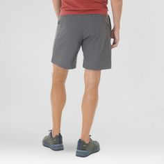 Wrangler Men's Outdoor Series Flat Front Performance Shorts - Charcoal (Grey) 34