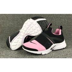 Womens Nike Air Presto Extreme Pink Black White - Air Presto