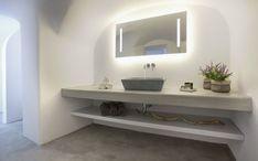 baño en santorini