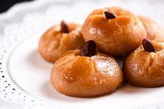 Σεκέρ Παρέ Greek Desserts, Greek Recipes, Greek Cookies, Deserts, Sweets, Snacks, Fruit, Cake, Ethnic Recipes