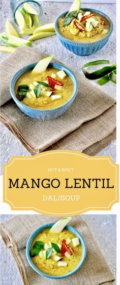 This Lentil Soup with Green mango chunks is floavored with spices and cooked with chucks of greet tart mangoes. Its tangy,light, spicy and just so so delicious! This a bowl of deliciousness that you are looking for throughout the year. If you dont have fresh green mangoes, you can always use the frozen ones. Pair this dal with some basmati rice to get the most out of this amazing dish.