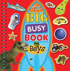 Big Busy Book For Boys - Picture Books - Children