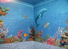 Dolphin Underwater Canvas Print / Canvas Art by Artur Sula ...