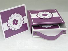 3x3 note card box  or could be used for nuggets of wisdom idea