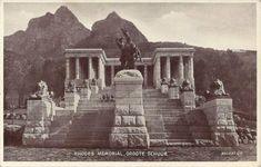 Rhodes Memorial, Groote Schuur Cape Town South Africa, Rhodes, Maine, Memories, History, Sewing, Memoirs, Needlework, Sew