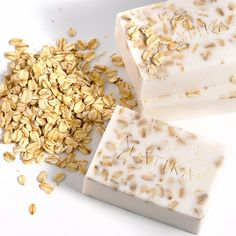 Oatmeal, milk and honey soap by Latika Soap