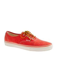 aef1b8901c1044 J.Crew - Vans for J.Crew washed canvas authentic sneakers This color is