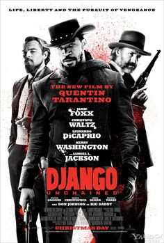 #DjangoUnchained will open to 43.1M 6-day.