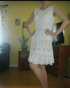 All Things, Crochet, Dresses, Fashion, Vestidos, Moda, Fashion Styles, Ganchillo, Dress