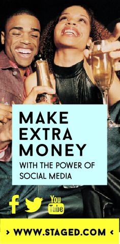 Make extra money with Staged - the internet marketing tool. Marketing Tools, Internet Marketing, Power Of Social Media, Extra Money, Youtube, How To Make, Online Marketing, Youtube Movies