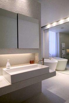 Eco-Friendly Apartment Bathroom Interior Design Idea