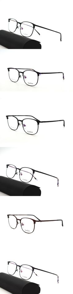 EyeGlow 8509 Fashion metal Half frame glasses for men myopic Prescription eyeglasses can make reading glasses and clear glasses