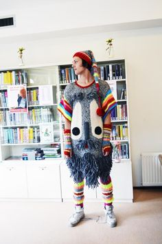Geitenwollensokken-outfit, ontwerper Bas Kosters (2015)