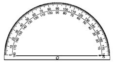 Can't find your protractor? Here's a free printable