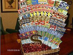 Lottery Ticket Tree/Display.  I would like to make a nice tree display.