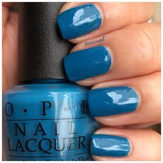 One coat and no top coat of OPI's Suzi Says Feng Shui. #OPI #nails #nailpolish #swatches .     Instagram: accnpl