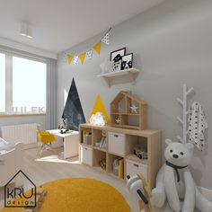 Boy Toddler Bedroom, Toddler Rooms, Baby Boy Rooms, Kids Bedroom, Bedroom Decor For Couples, Baby Room Decor, Yellow Kids Rooms, Baby Room Design, Inspiration