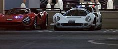 http://chicerman.com  carsthatnevermadeit:  Lola T70 in THX 1138 1971. George Lucass first film featured the 1960s race cars as police cars one of which gets stolen by the central character THX 1138 (played by Robert Duvall)  #cars