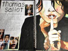 Thomas Saliot research homework year 12 fine art