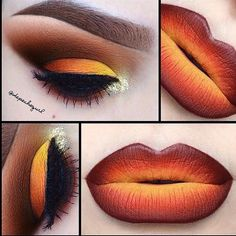 Hot Fire Makeup Looks to Try for Fun Makeup Inspo, Makeup Inspiration, Makeup Tips, Makeup Ideas, Makeup Trends, Makeup Tutorials, Color Inspiration, Maquillage Normal, Fire Makeup