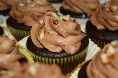 Celebrate World Nutella Day with these Nutella Bliss cupcakes!