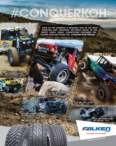 CRAWL Magazine ad Featuring Falken WildPeak Tires