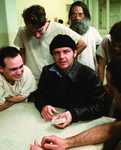 One flew over the cuckoos nest. One of the best films jack ever made!!!